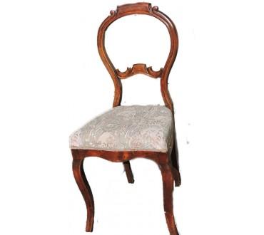 """64    Chaise """"rococo"""""""