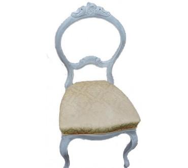 """86    Chaise """"rococo"""""""
