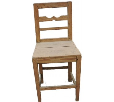 142    Chaise rustique