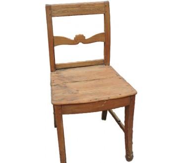 143   Chaise rustique