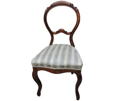 """147    Chaise """"rococo"""""""