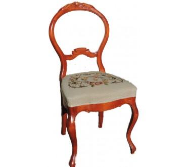 """166    Chaise """"rococo"""""""
